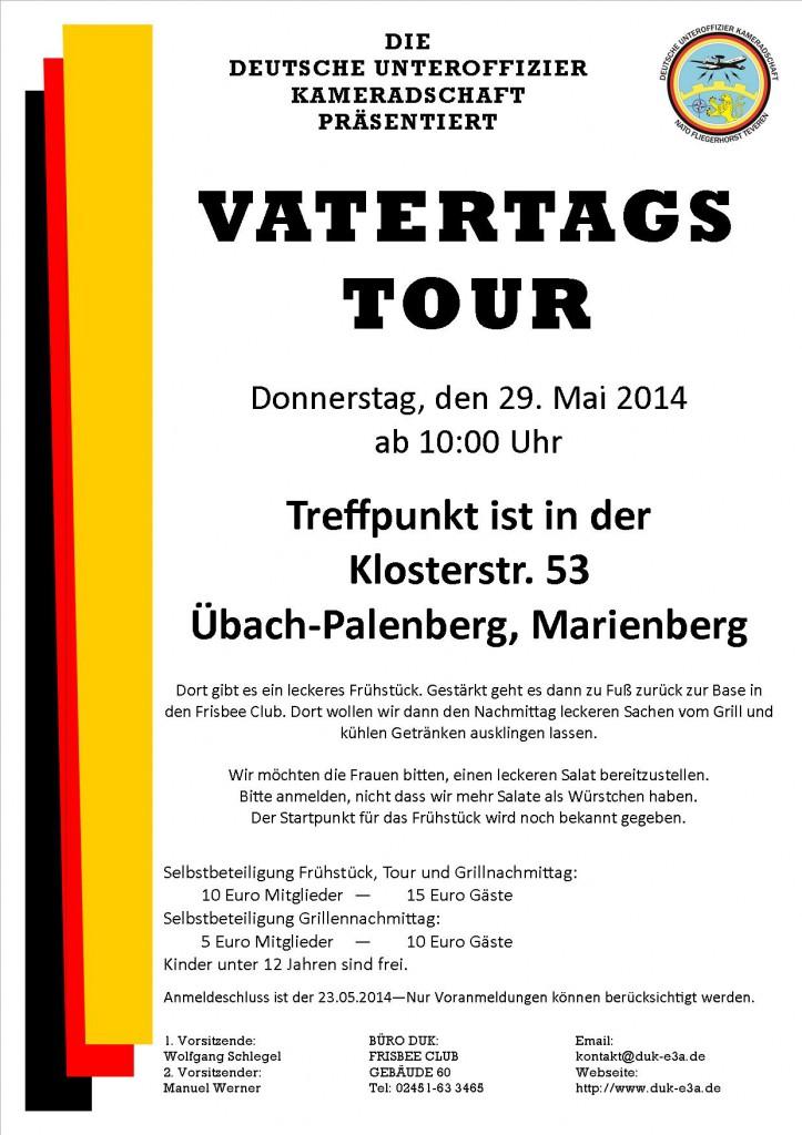 Flyer 2014 Vatertag