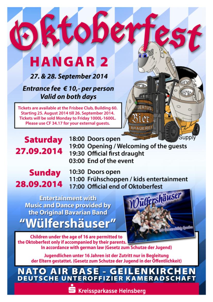 Poster Oktoberfest 2014